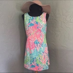 Lilly Pulitzer Dresses - 🌴Lilly Pulitzer🌴size 6 Let's Cha Cha Shift Dress